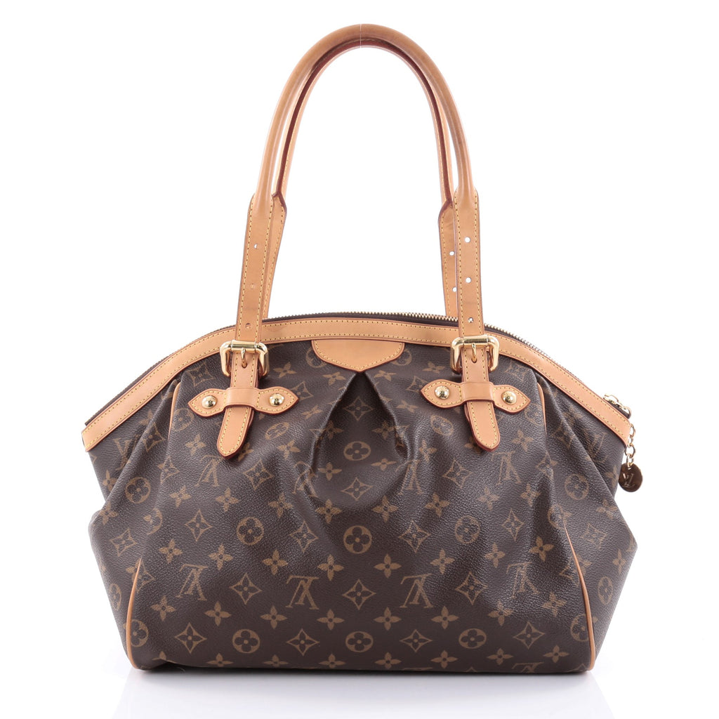 Buy louis vuitton tivoli handbag monogram canvas gm brown for Louis vuitton miroir bags