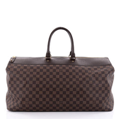 Louis Vuitton Greenwich Travel Bag Damier GM Brown 2423401