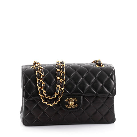 9f4ef8c7ea54 Buy Chanel Vintage Double Sided Flap Bag Quilted Lambskin 2435502 – Rebag