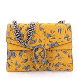 Gucci Dionysus Handbag Arabesque GG Coated Canvas Medium Yellow 2455401