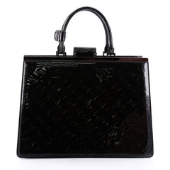 Louis Vuitton Deesse Handbag Monogram Vernis GM Black 2456001