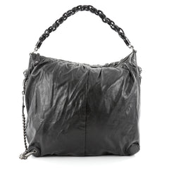 Gucci Galaxy Convertible Hobo Leather Large Black 2470602
