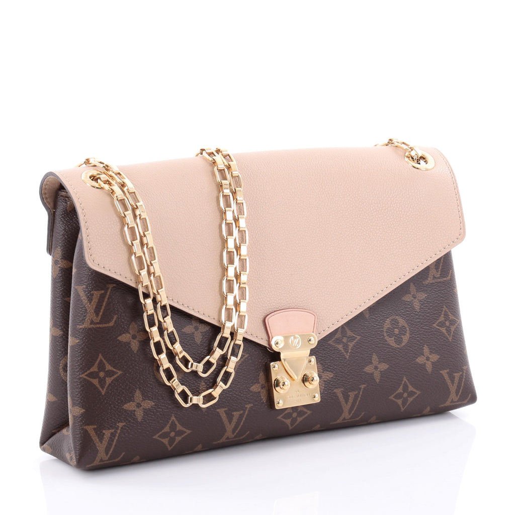 Buy Louis Vuitton Pallas Chain Shoulder Bag Monogram Canvas 2474902 ...