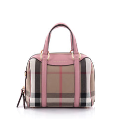 Burberry Alchester Convertible Satchel House Check 2476705