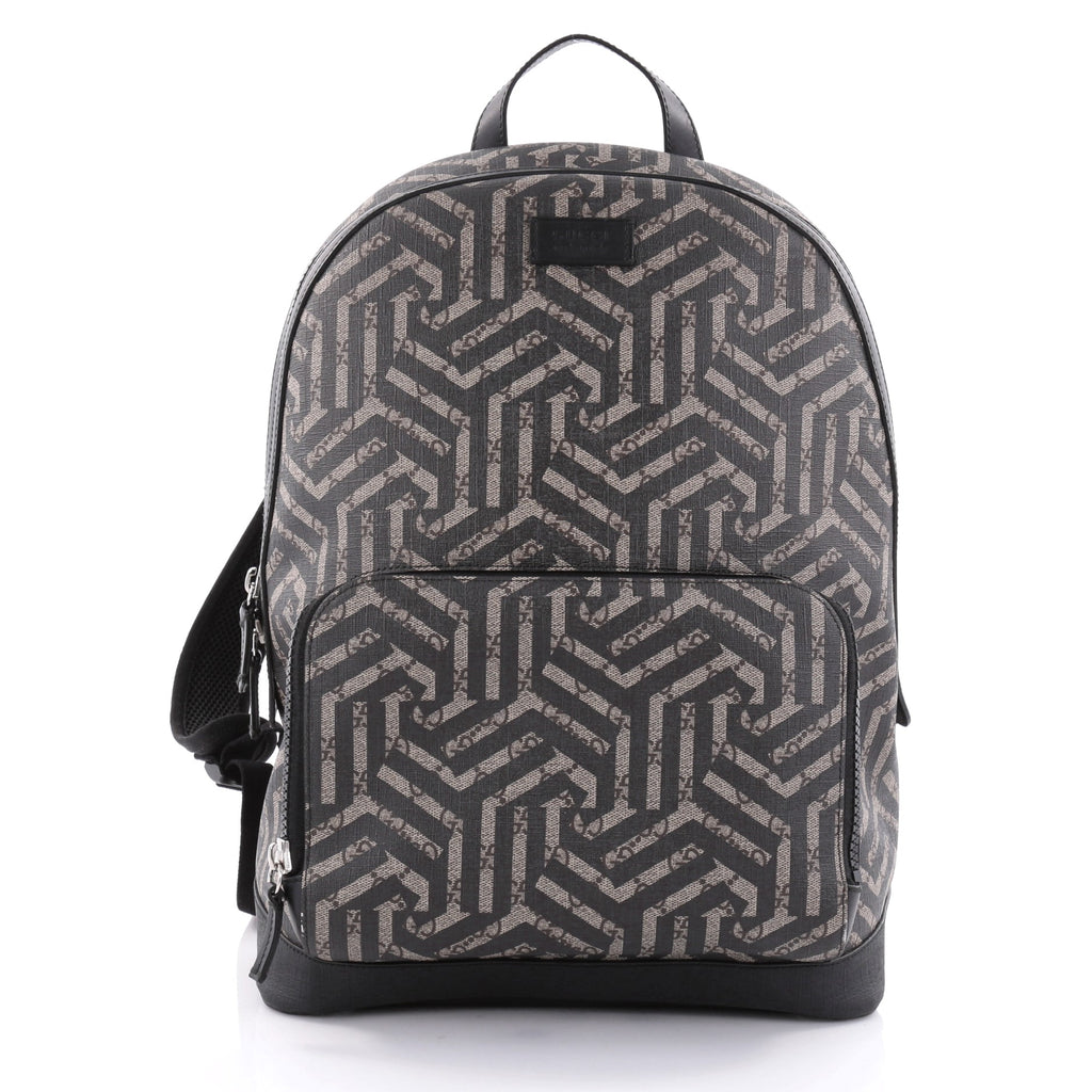 2ae7e5dd2ec Buy Gucci Zip Pocket Backpack Caleido Print GG Coated Canvas 2486101 ...