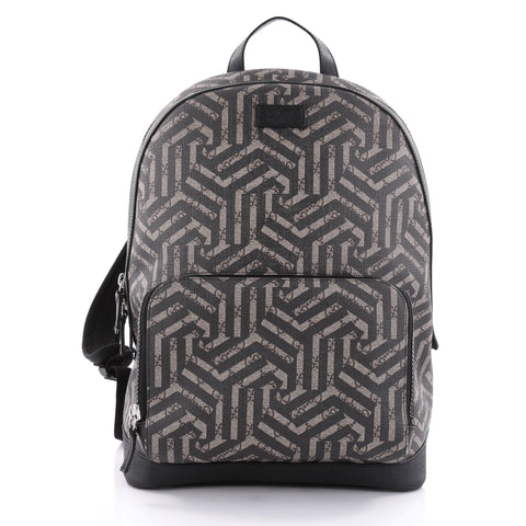 742784193ce Buy Gucci Zip Pocket Backpack Caleido Print GG Coated Canvas 2486101 – Rebag