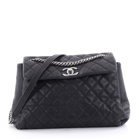 bb342e1dd9bf Buy Chanel Lady Pearly Flap Bag Quilted Matte Caviar Large 2487401 – Rebag