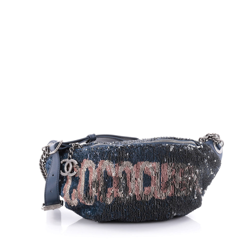 77af90f28c2b Buy Chanel Coco Cuba Waist Bag Sequins and Quilted Lambskin 2489801 – Rebag