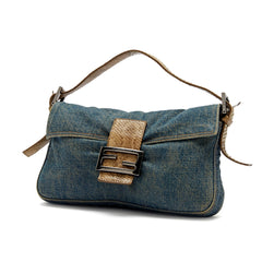 Fendi Baguette Denim Medium