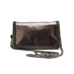 Stella McCartney Falabella Crossbody Vegan Snake Skin Mini