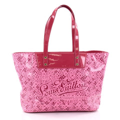 Louis Vuitton Voyage Tote Cosmic Blossom PM Pink 2516201