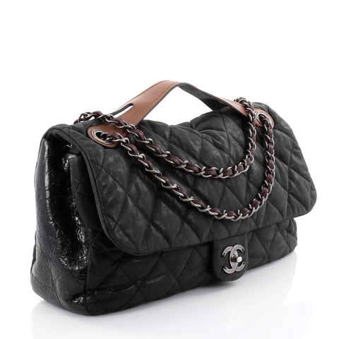 a16a2c700782 Buy Chanel In the Mix Flap Bag Quilted Iridescent Leather 2519801 ...