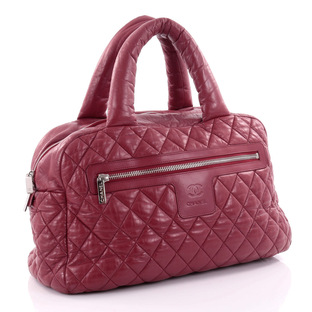 baada1f6daf3 Buy Chanel Coco Cocoon Bowling Bag Quilted Lambskin Large 2525601 ...