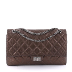 Chanel Reissue 2.55 Handbag Quilted Aged Calfskin 226 brown 2526001
