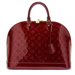 Louis Vuitton Alma Monogram Vernis Leather GM