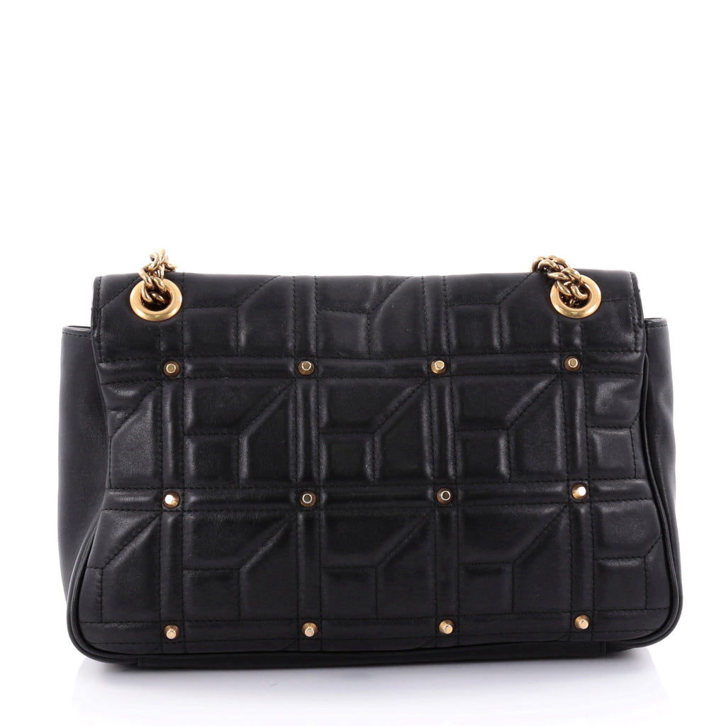 570ab3955d44 Buy Gucci GG Marmont Flap Bag Studded Matelasse Leather 2530401 – Trendlee