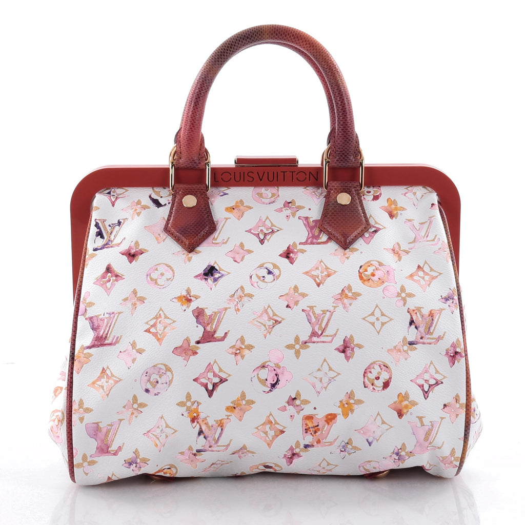 04c515ad0261 Buy Louis Vuitton Frame Speedy Bag Limited Edition Aquarelle 2539602 ...