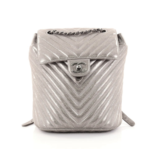 2e7f8522febd Buy Chanel Urban Spirit Backpack Iridescent Chevron Calfskin 2544201 – Rebag