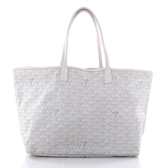 Goyard St. Louis Tote Coated Canvas PM White 2559003
