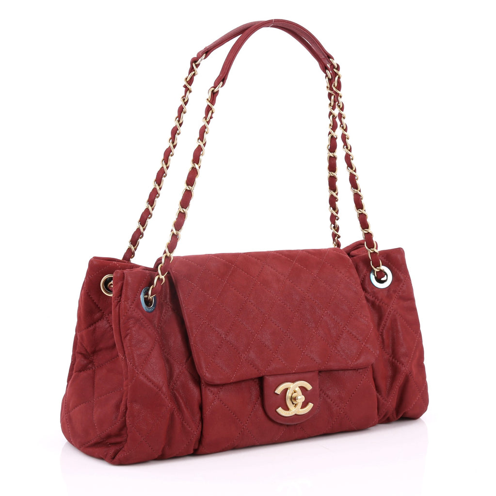 36bfbb80dea5 Buy Chanel Chic Quilt Accordion Flap Bag Quilted Iridescent 2565802 ...