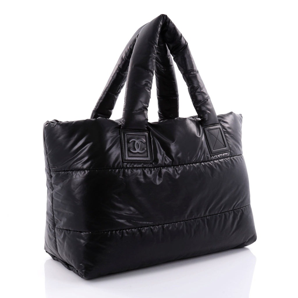 f1aec947c6c0 Buy Chanel Coco Cocoon Reversible Tote Quilted Nylon Medium 2569202 ...