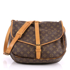 Saumur Handbag Monogram Canvas GM