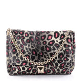 Valentino Rockstud Chain Soft Flap Bag Printed Python 2574401