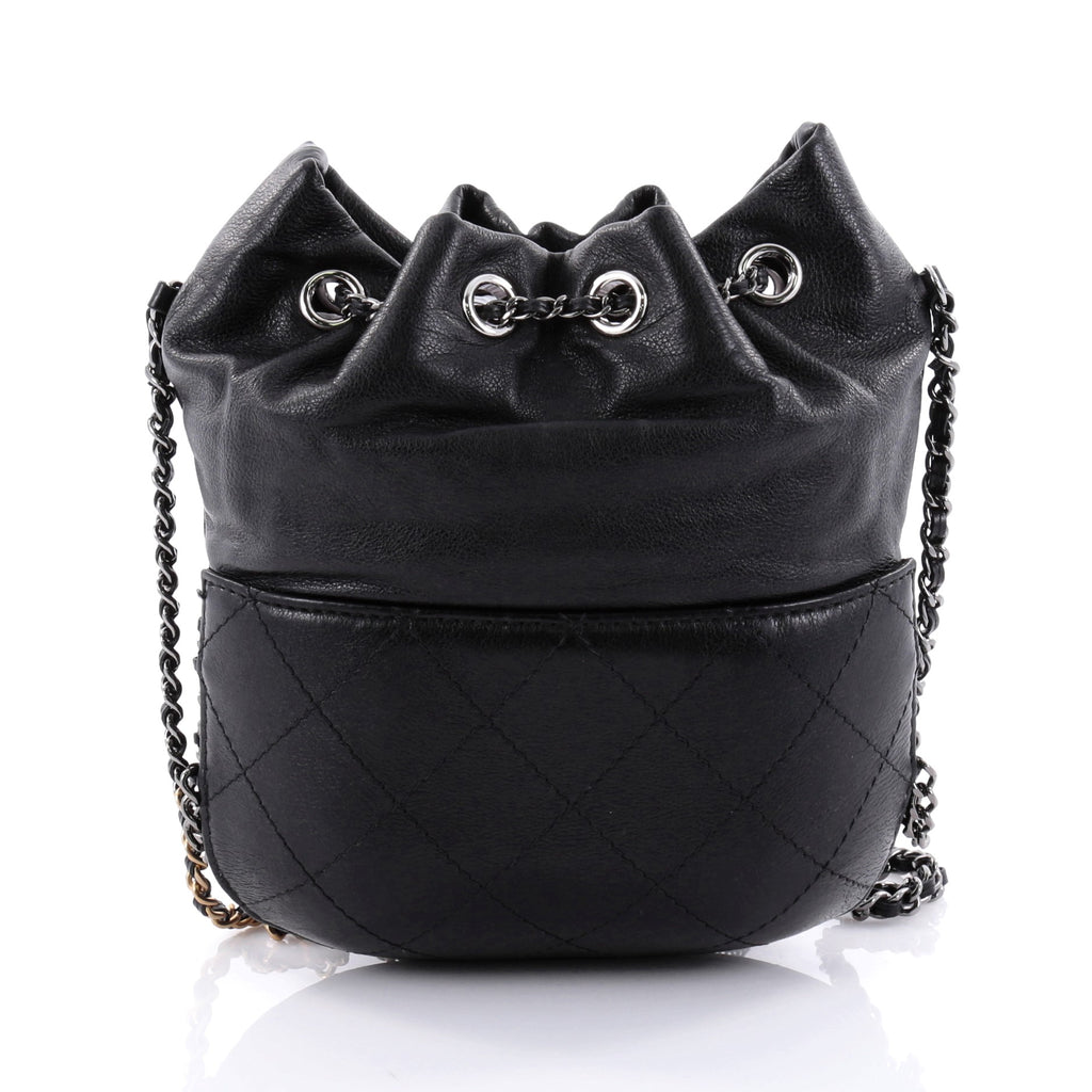 f98d55cc51c44f Buy Chanel Gabrielle Drawstring Bag Quilted Calfskin Small 2578302 ...