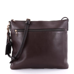 Louis Vuitton Shawnee Messenger Utah Leather MM Brown 2583104