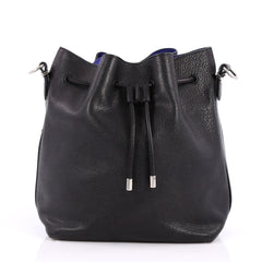 Proenza Schouler Bucket Bag Leather Medium Black 2583701