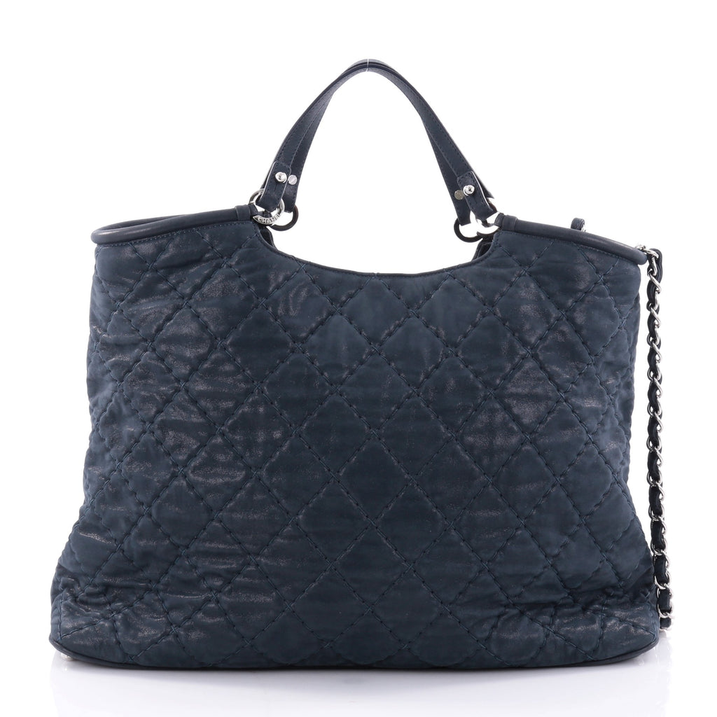 47d174f5470d Buy Chanel CC Sea Hit Tote Quilted Iridescent Calfskin Large 2590301 ...