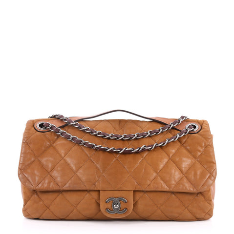 4befdd744991 Buy Chanel In the Mix Flap Bag Quilted Iridescent Leather 2592605 – Rebag