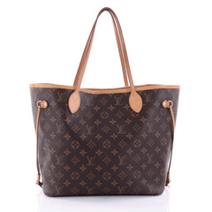 Louis Vuitton Neverfull NM Tote Monogram Canvas MM Brown 2594702
