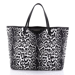 Givenchy Antigona Shopper Printed Canvas Large White 2609003