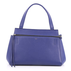 Celine Edge Bag Leather Small Blue 2609401