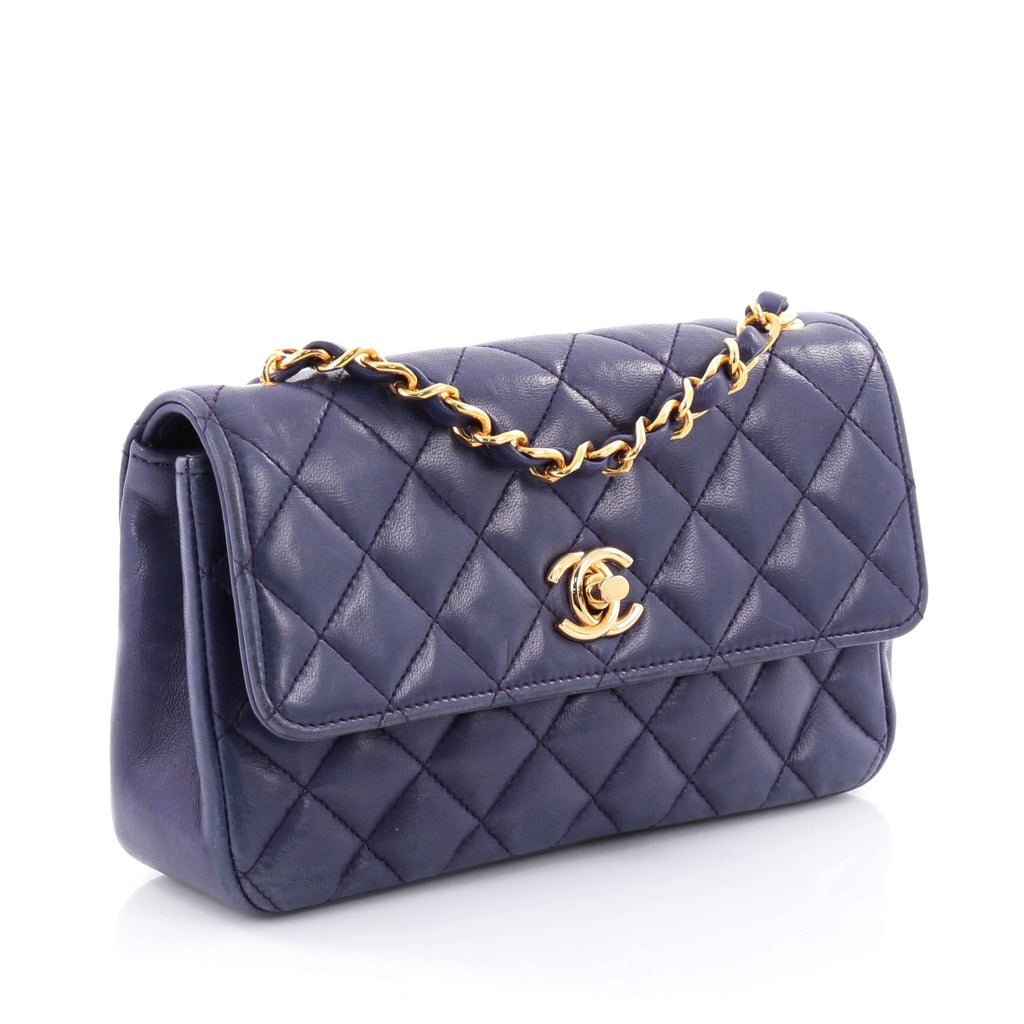 7a091810ae87 Buy Chanel Vintage CC Chain Flap Bag Quilted Leather Mini 2615801 – Trendlee