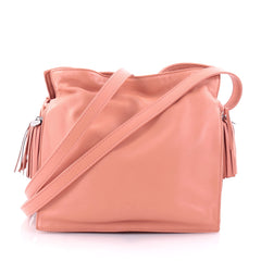 Loewe Flamenco Bag Leather Pink 2632803