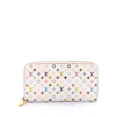 Louis Vuitton Zippy Wallet Monogram Multicolor White 2637801