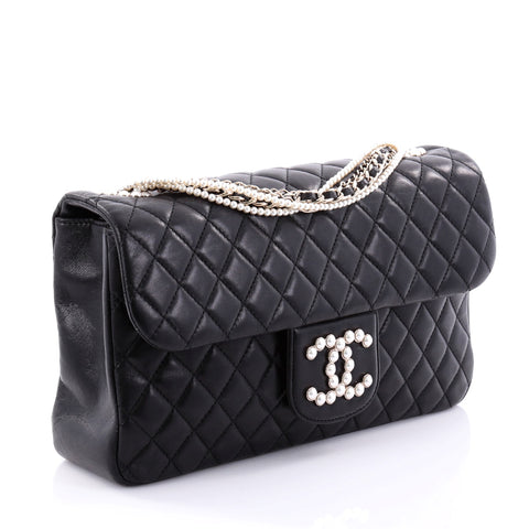 1b1abf9e122c Buy Chanel Westminster Pearl Chain Flap Bag Quilted Lambskin 2659702 ...