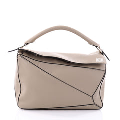 Loewe Puzzle Bag Leather Small Neutral 2670901