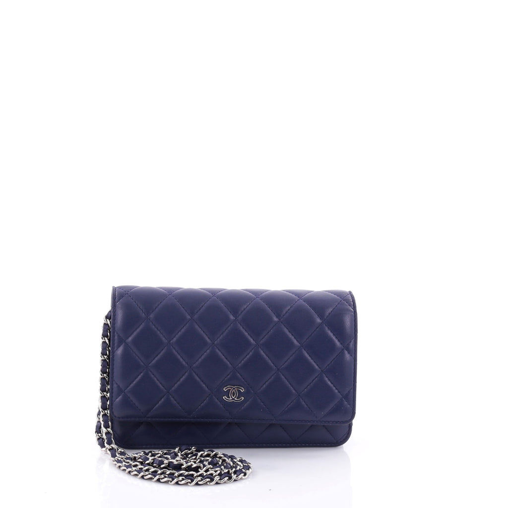 Buy Chanel Wallet on Chain Quilted Lambskin Purple 2671713 – Rebag b0db9b251040c