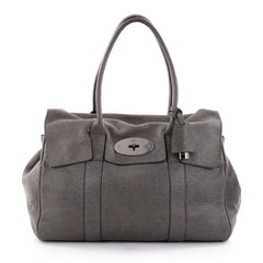 Mulberry Bayswater Satchel Iridescent Leather Medium gray 2675502