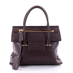 Tom Ford Icon Tote Leather Small Red 2681302