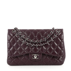 Chanel Classic Double Flap Bag Quilted Lambskin Jumbo 2682905