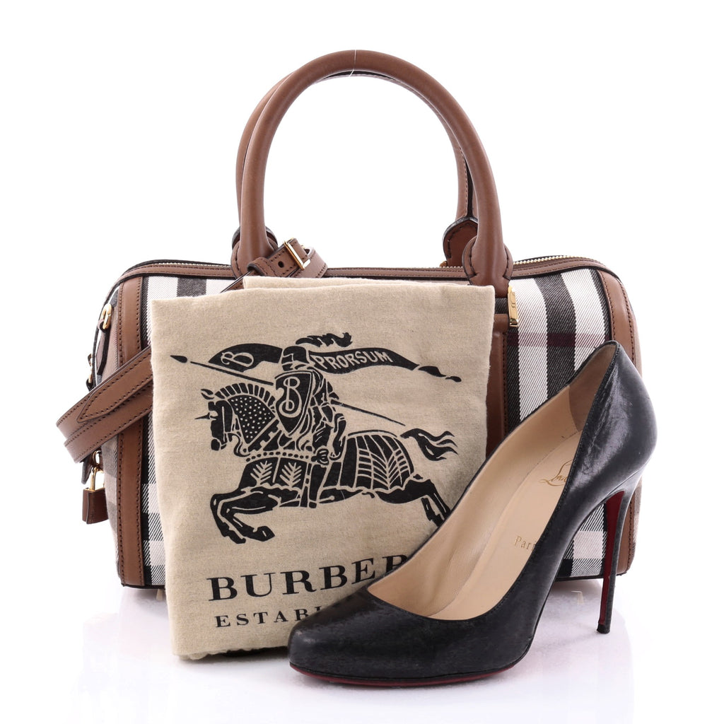 476847e67138 Buy Burberry Alchester Convertible Satchel House Check and 2686601 ...