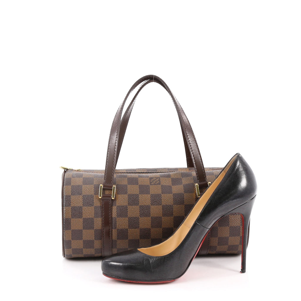 Buy Louis Vuitton Papillon Handbag Damier 26 Brown 2688302