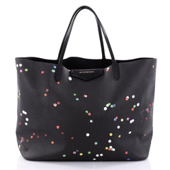 Givenchy Antigona Shopper Printed Coated Canvas Large Black 2688801