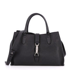 Gucci Jackie Soft Tote Leather Small Black 2689003
