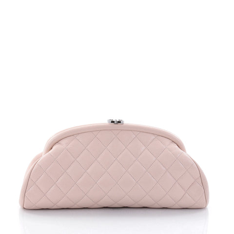 6a6d368e092e Buy Chanel Timeless Clutch Quilted Caviar Pink 2689302 – Rebag