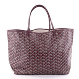 Goyard St. Louis Tote Coated Canvas GM Red 2692904